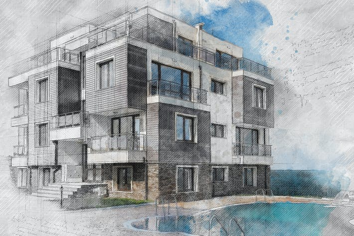 Archi Sketch Photoshop Action