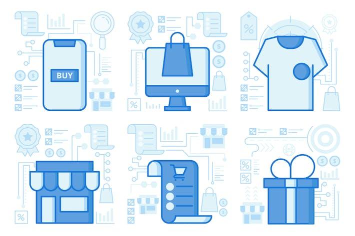 Online UI UX Illustrationen kaufen