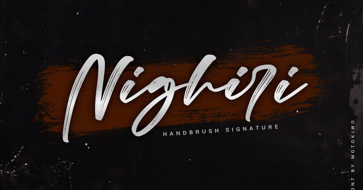 Download Nighiri - Handbrush Signature by Motokiwo