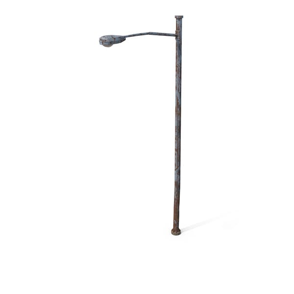 Destroyed Street Lamp
