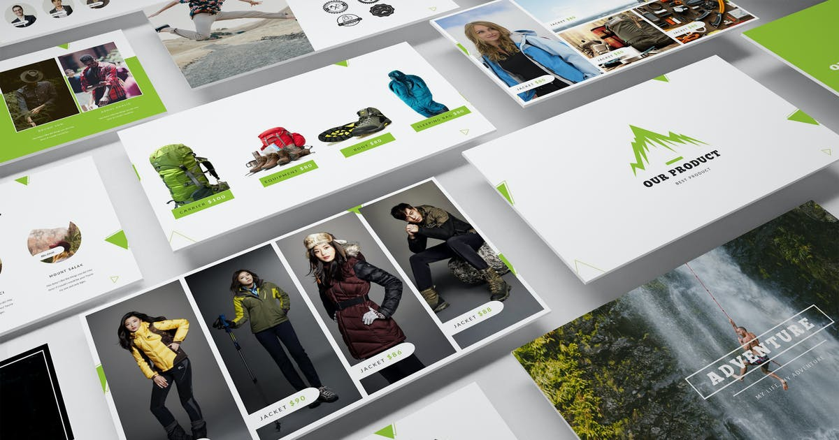 Download Adventure Shop Powerpoint Template by Unknow