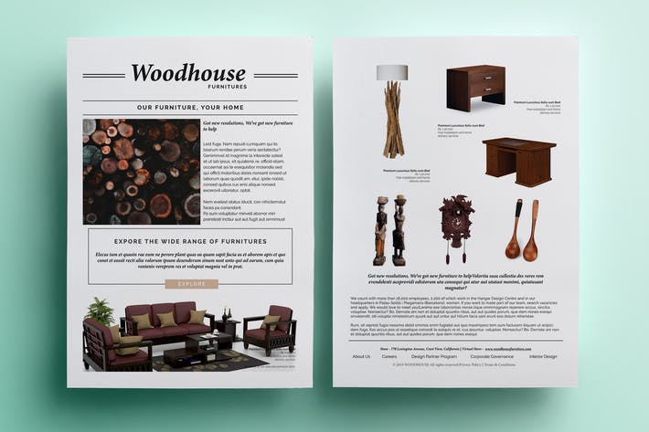 Cover Image For Furniture Flyer - Promotional
