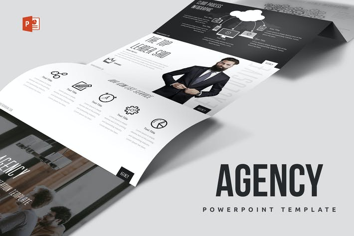Thumbnail for Agency Powerpoint Template