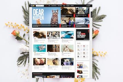 ViralVideo - User Membership News / Magazine Theme