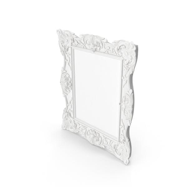Thumbnail for White Baroque Frame