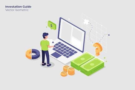 Investation Guide - Vector Illustration