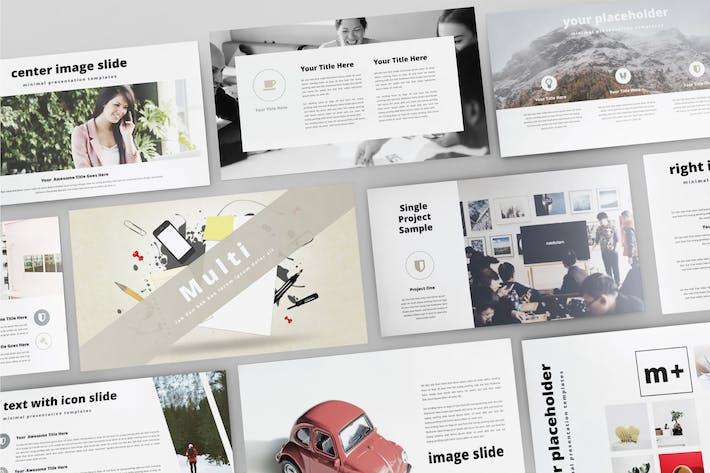 Cover Image For MULTI - Multipurpose Powerpoint  V114