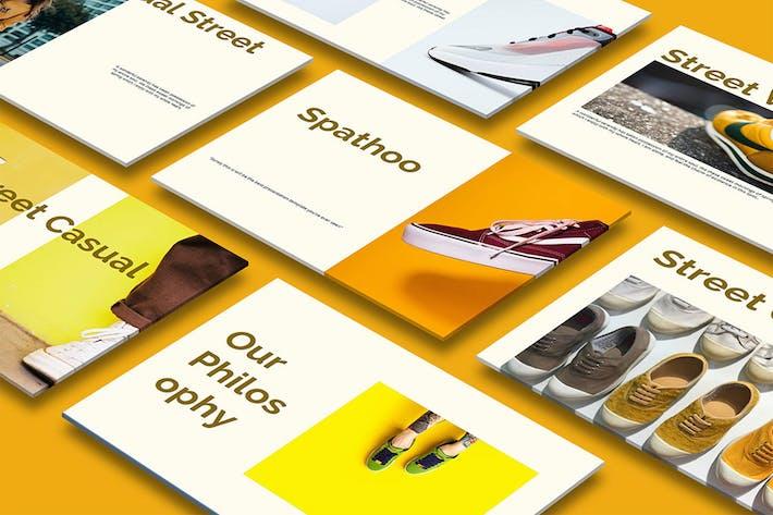 Thumbnail for Spathoo - Fashion Google Slide Presentation