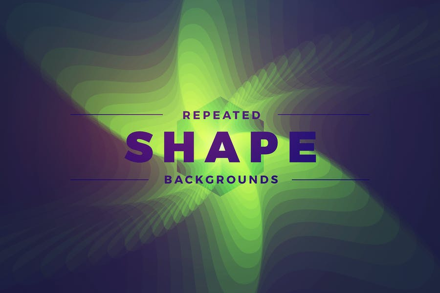 Repeated Shape Backgrounds