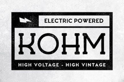 Kohm - Fuente Vintage