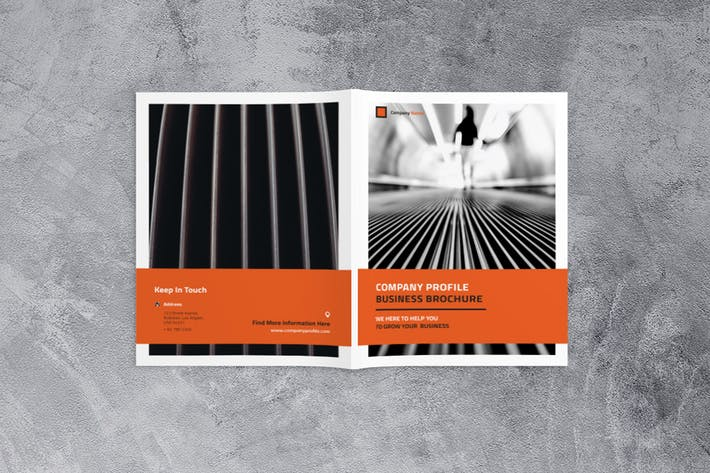 Cover Image For Company Profile Business Brochure