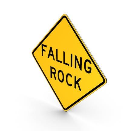 Falling Rock Colorado North Carolina Texas West Virginia Road Sign