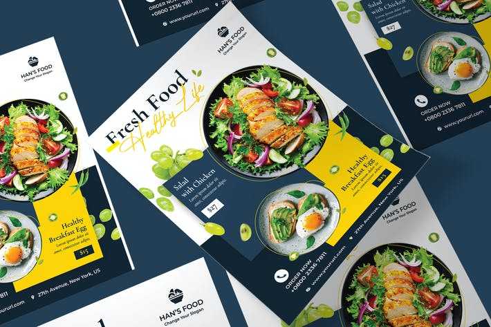 Thumbnail for Fresh Food Poster