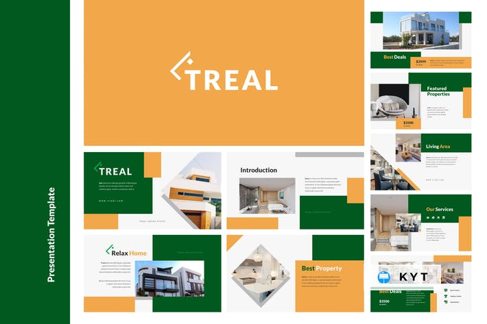 TREAL - Real Estate Keynote Template