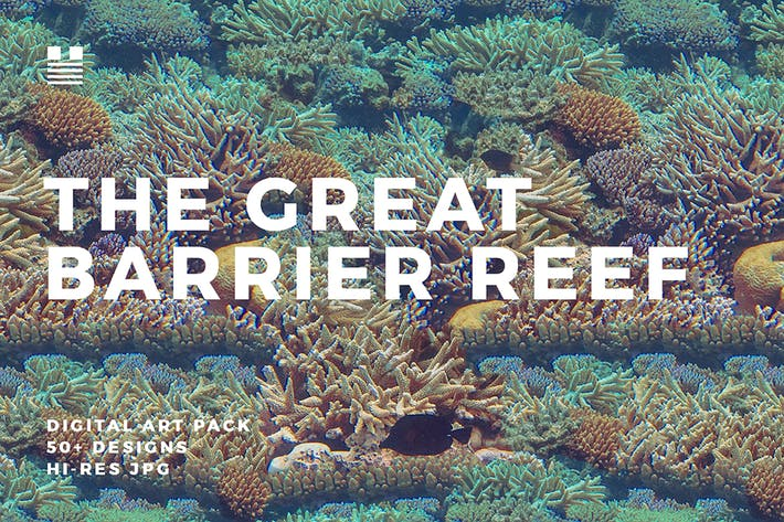 Cover Image For The Great Barrier Reef