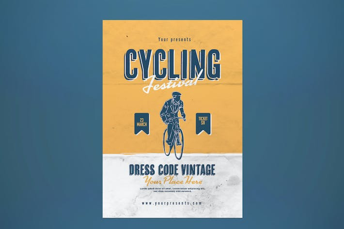 Thumbnail for Cycling Festival Flyer