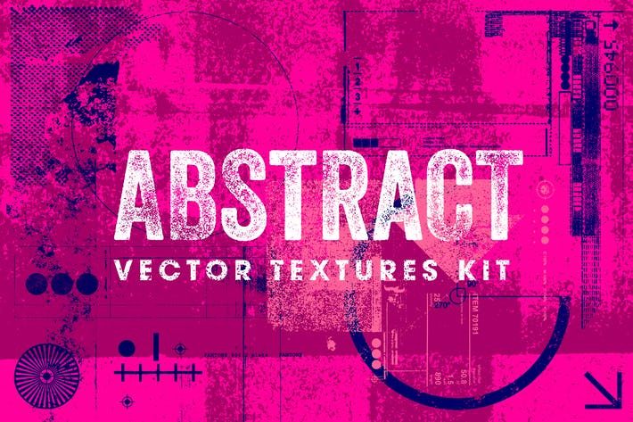 Thumbnail for Abstract Vector Textures Kit