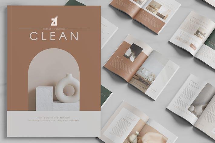 Thumbnail for Clean magazine multi-purpose book