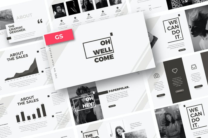 Thumbnail for Oh Yeah Powerpoint Template