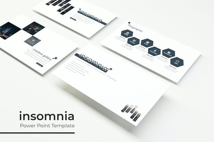 Thumbnail for Insomnia - Plantilla Powerpoint