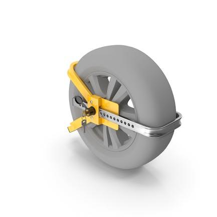 Cerradura antirrobo de seguridad con llaves