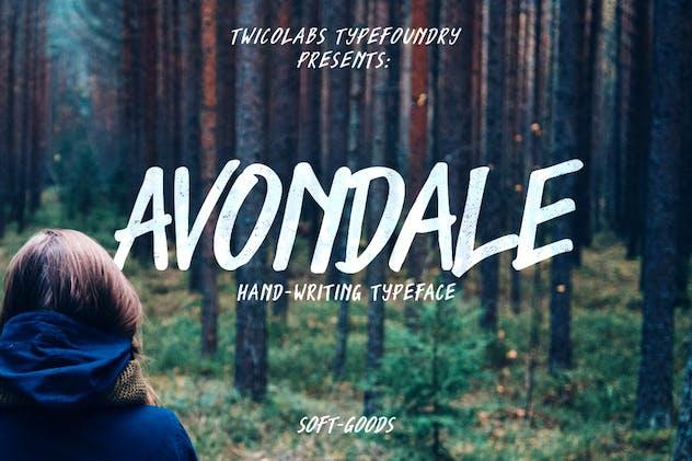Avondale Typeface