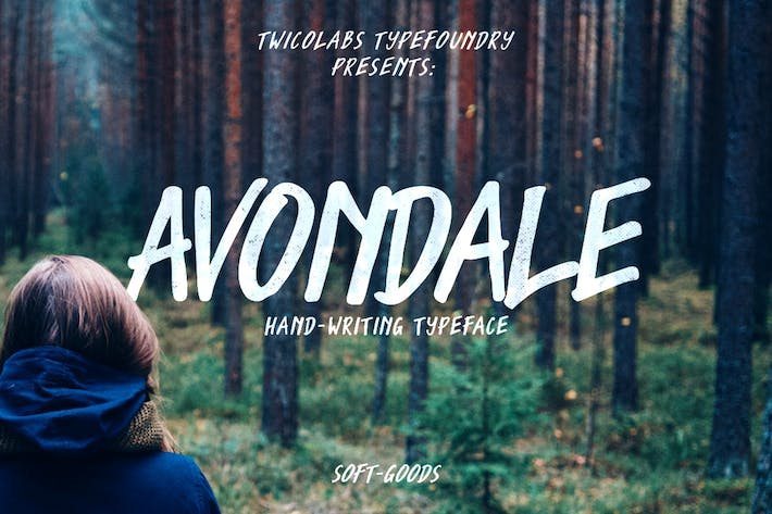 Thumbnail for Avondale Typeface