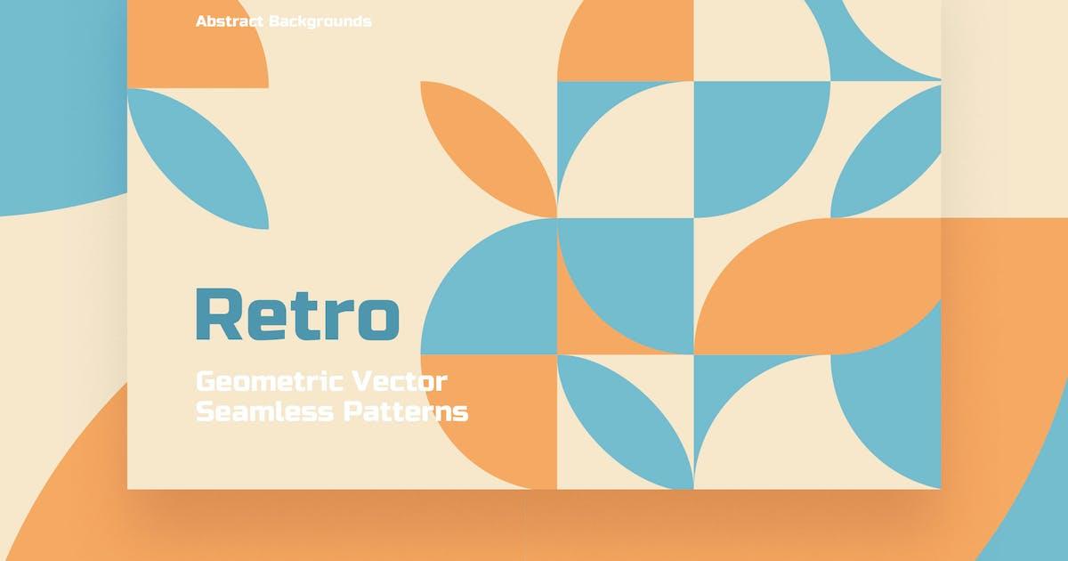 Download Retro Geometric Seamless Patterns by themefire