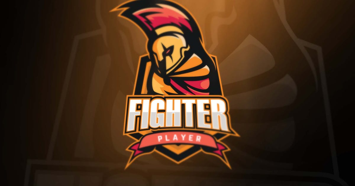 Download Fighter Sport and Esports Logos by Unknow