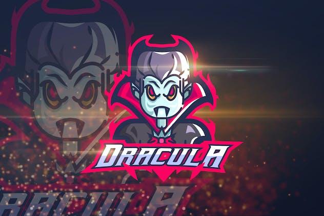 Dracula - Esport Logo Template
