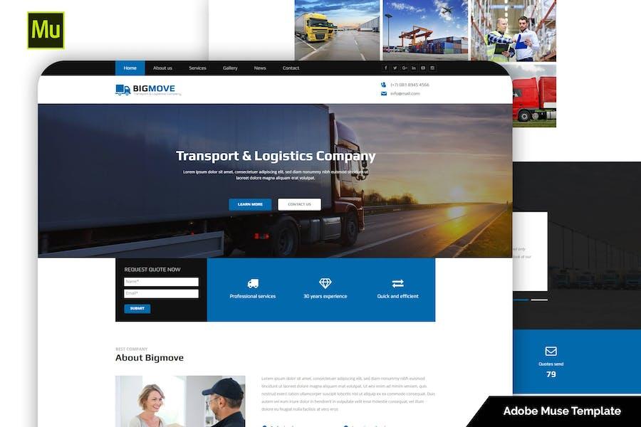 Big Move — адаптивный транспорт и логистика
