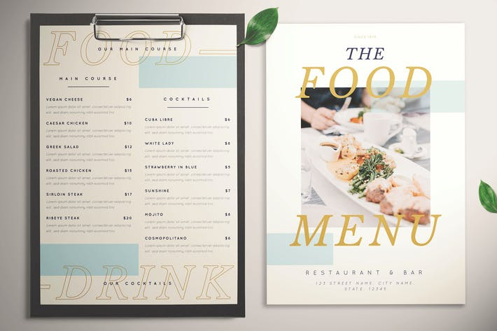 Cover Image For Menu Hipstery Food