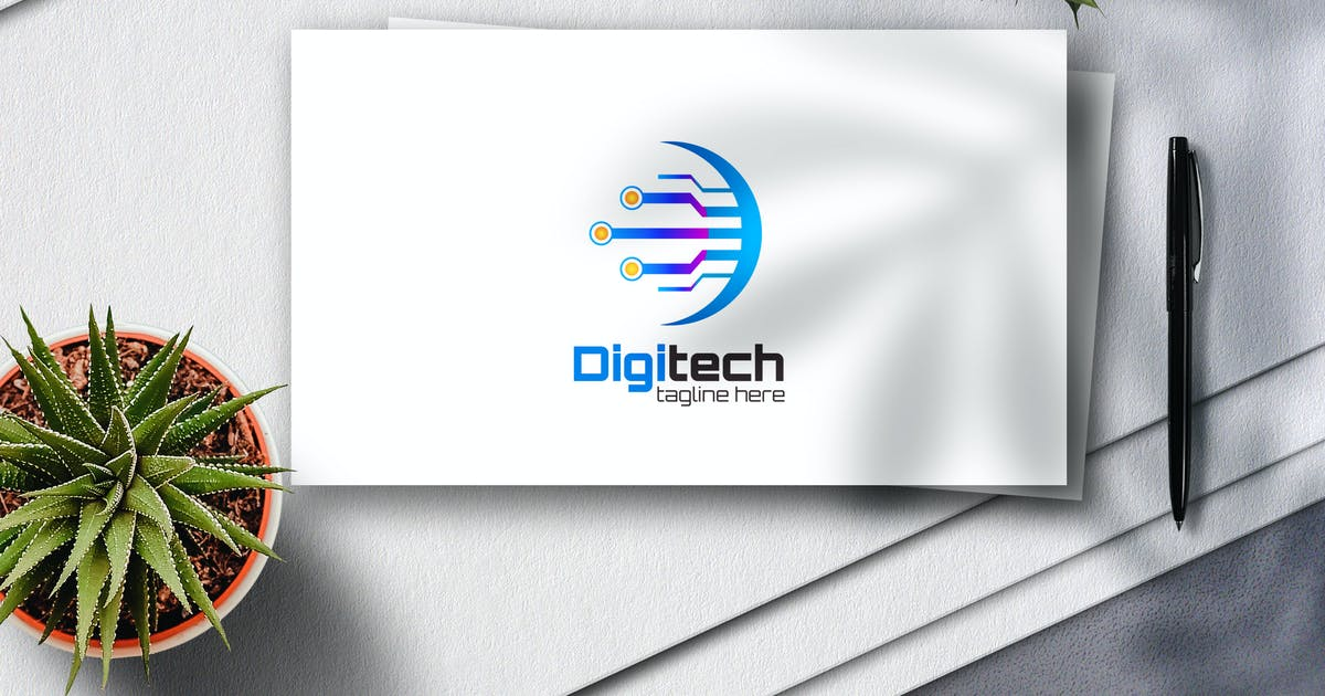 Download Digitech Logo by Voltury