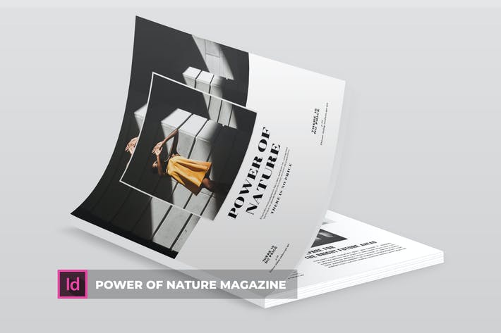 Thumbnail for Power Of Nature | Magazine Template