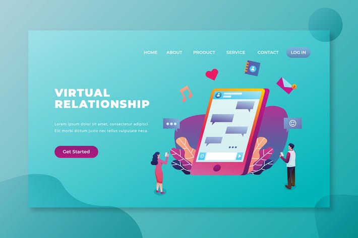 Thumbnail for Virtual Relationships - PSD and AI Landing Page