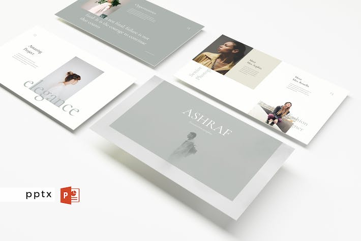 Thumbnail for ASHRAF - Multipurpose Powerpoint Template  V93