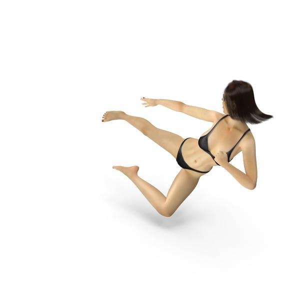 Bikini Girl Ninja Kick