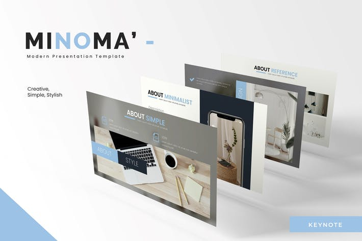 Cover Image For Minoma - Keynote Template