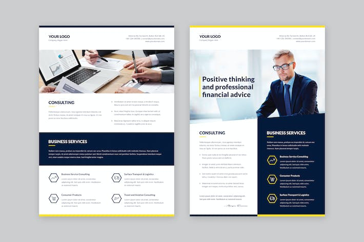 Thumbnail for Flyer – Finance and Business Multipurpose