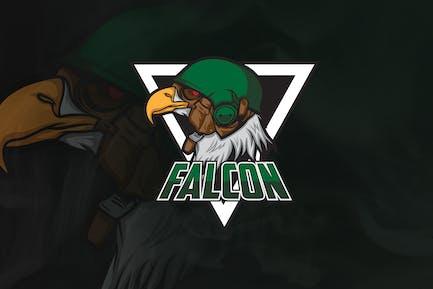Falcon - Mascot & Esport Logo
