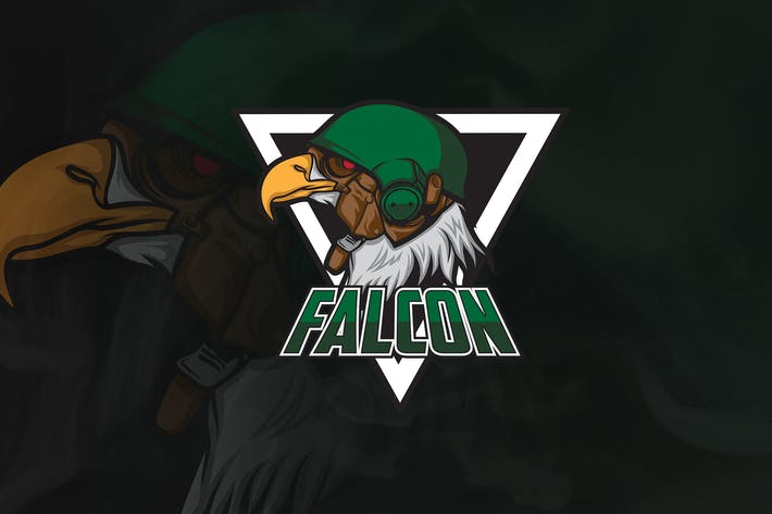 Thumbnail for Falcon - Mascot & Esport Logo