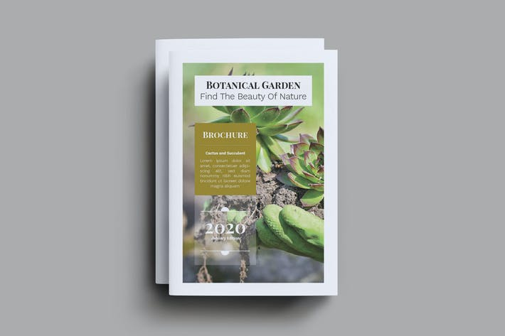 Thumbnail for Botanical Shop Brochure