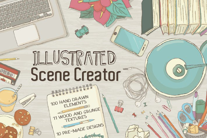 Thumbnail for Illustrated Scene Creator