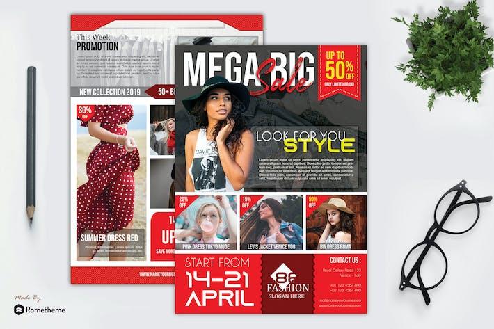 Thumbnail for Fashion Soldes dépliant vol. 06 HR