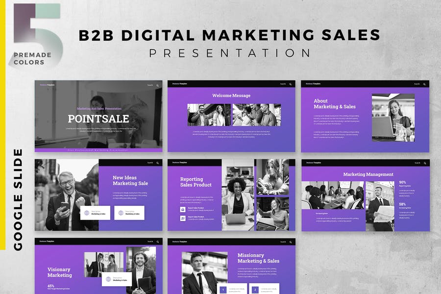 B2B / B2C Digital Marketing & Sales Presentation