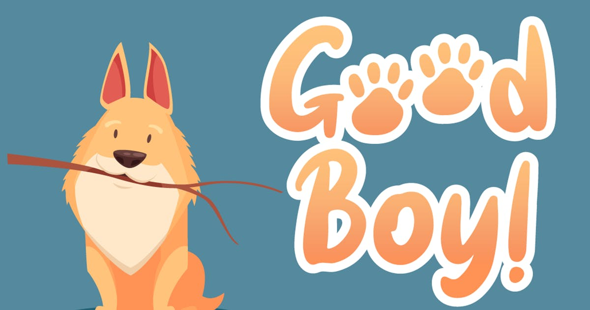 Download Good Boy by Attype-Studio