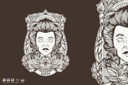 Queen Kingdom vintage