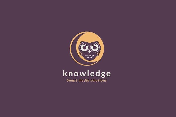 Thumbnail for Logovorlage für Wissen