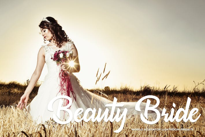 Thumbnail for Beauty Bride Mobile & Desktop Lightroom Presets