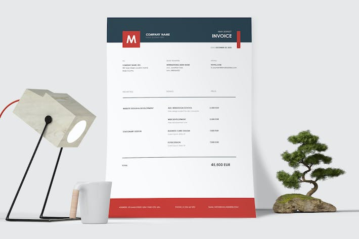 Cover Image For Invoice Template 50